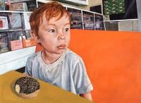 "Witness Brian Boner 36"" x 48"" oil on canvas $2100"
