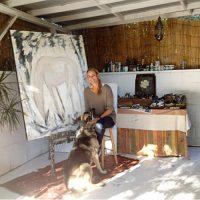 Photo of artist Karen Bezuidenhout