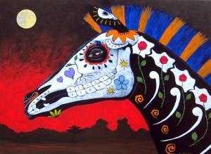 Cross-Species Expression of Dia De Los Muertos