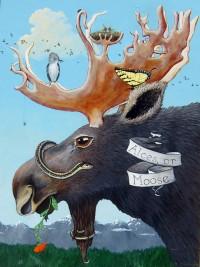 Alces, or Moose