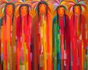 "New Visions by Charles Davison 48 "" x 60"""