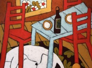 White Dog, Red Wine