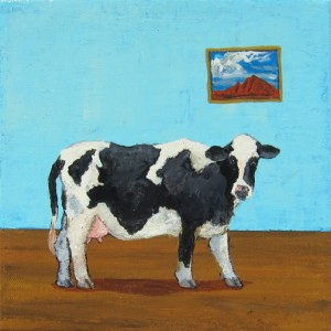 Cow in Room