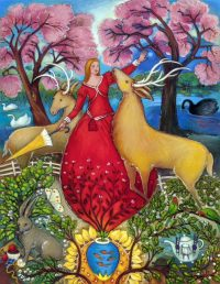 "Dear One Linda Carter Holman  52"" x 40"" oil on canvas $10,500"