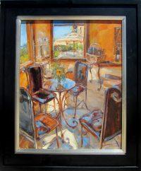 "Early Morning Light James Swanson 26"" x 21.5"" oil on panel $1500"