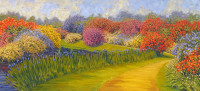 "Forgotten Moments Lawrence Taylor 24"" x 54"" oil/canvas $2600"