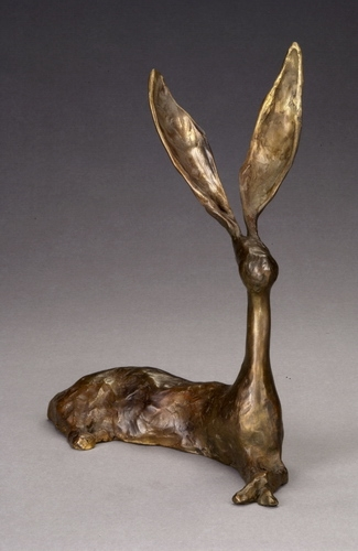 Abby Jim Budish  cast bronze