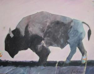 Buffalo with Boquet