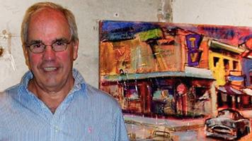 Artist Bill Colt