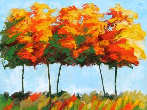 Trees, Jacqueline Ellens