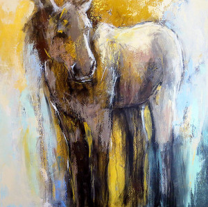 Horse Abstraction, Debora Stewart