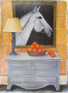 Oranges II, Rudie van Brussel