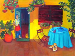 Pia's Trattoria, Judy Feldman