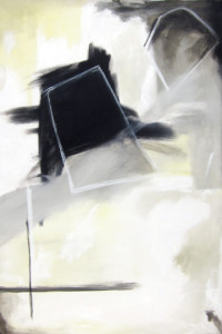 Composition in Yellow, Grey & Black #7, Tierney Miller
