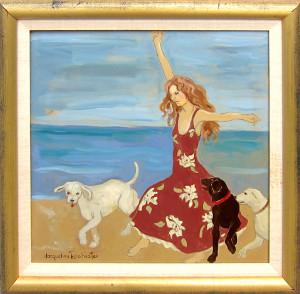 Beach Scene, Jacqueline Rochester