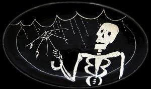 Skeleton in the Rain