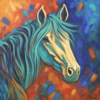 Wild Beauty Theresa Paden  acrylic on canvas