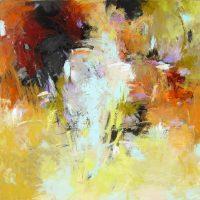 "Haven Debora Stewart 36"" x 36"" acrylic on canvas $2500"