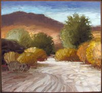 "South Mountain Sunday #2 Jeff Cochran 50"" x 54"" oil on canvas $5650"