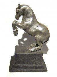 "Presence  Lisa M. Gordon 10.5"" x 6"" x 5"" bronze $1,700"