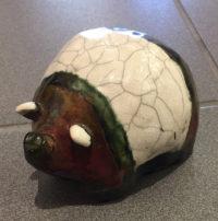 Pig Alan Potter ceramic $62