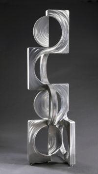 """Sonoron Equinox Ken Kasten 87"""" x 24"""" x 24"""" coated steel $19,000"""