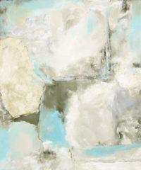 "Jetty II Tierney M. Miller  72"" x 60"" oil on canvas $7200"