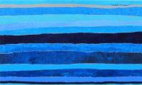 "Flow Ryan Hale 36"" x 60"" acrylic on canvas $2650"
