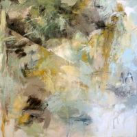 """Fractured Nature Debora Stewart  36"""" x 36"""" acrylic on canvas $2850"""
