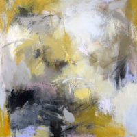 "Excavation I Debora Stewart 20"" x 20"" acrylic on canvas $875"