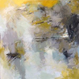"""Excavation II</em>Debora Stewart by Debora Stewart20"""" x 20""""acrylic on canvas"""