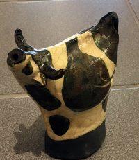 Alan Potter Cow ceramic $78