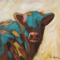 "Lola Theresa Paden 20"" x 20"" acrylic on canvas $850"