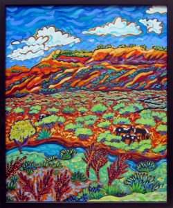 Cathy Carey acrylic on canvas