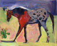 "Shamrock Dana Hooper 24"" x 30"" oil on canvas $2600"