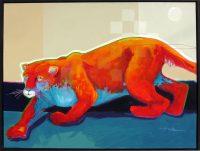 "Hunters Walk Jim Nelson 31.5"" x 41.5"" acrylic on panel $5935"