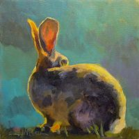 Watchful Bunny by Sarah Webber