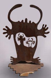 """Wyoming Wildman by Doug Weigel 48"""" x 33"""""""