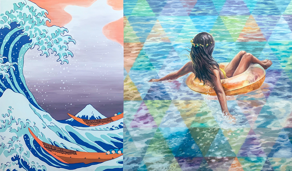 """Oceanus by Andrea Peterson 36"""" x 60"""""""