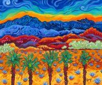"Transformation Cathy Carey 20"" x 24"" oil on canvas $1300"