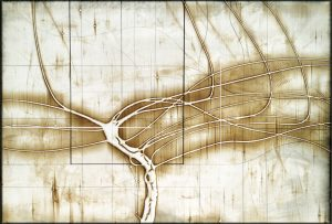 "Treeclips by Michael Kessler 40"" x 60"""