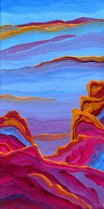 Amethyst Evening by Judy Choate