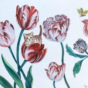 Tulip Catnip by Andrea Peterson