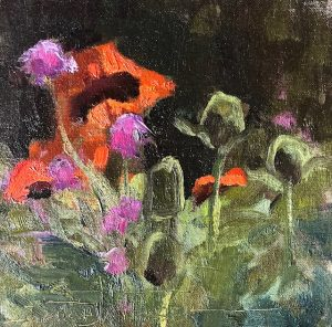 Poppies and Pink Rockets by Sarah Webber