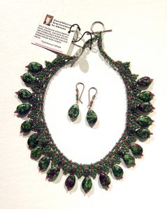 Azteca - Necklace and Earrings