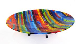 Lots of Color Bowl by Sue Goldsand, 17.5 diameter