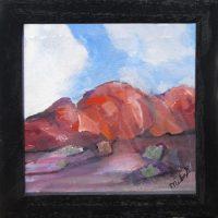 "Phoenix View Laurelea Kim 7.25"" x 7.25"" acrylic on canvas $145"