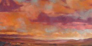 "1010 - Albert Scharf 24"" x 48"" oil on canvas"