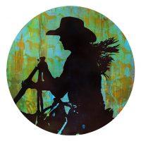 "Spring Trail I Maura Allen 24"" acrylic on panel $2850"