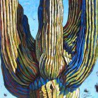 "Uplifting Diane F Barbee 48"" x 48"" acrylic on canvas $6000"